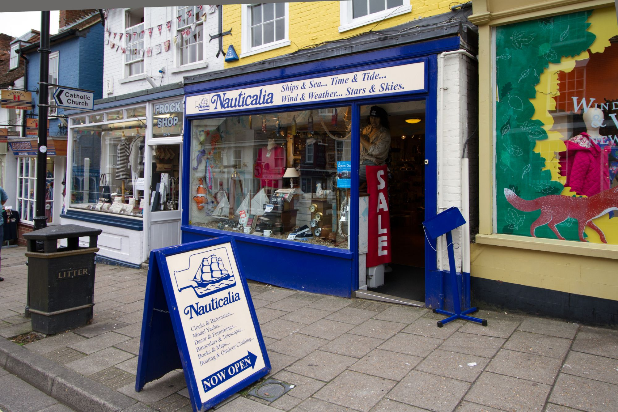 Nauticalia Lymington High Street Store