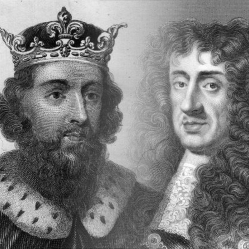 Alfred The Great and Charles II