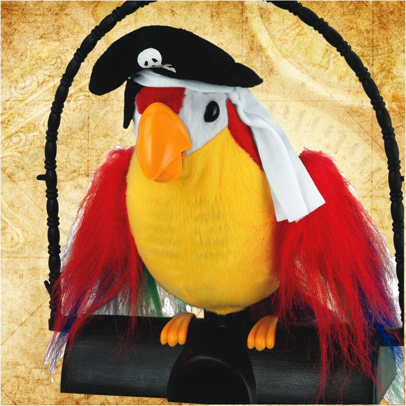 Pirate Pete Repeating Parrot