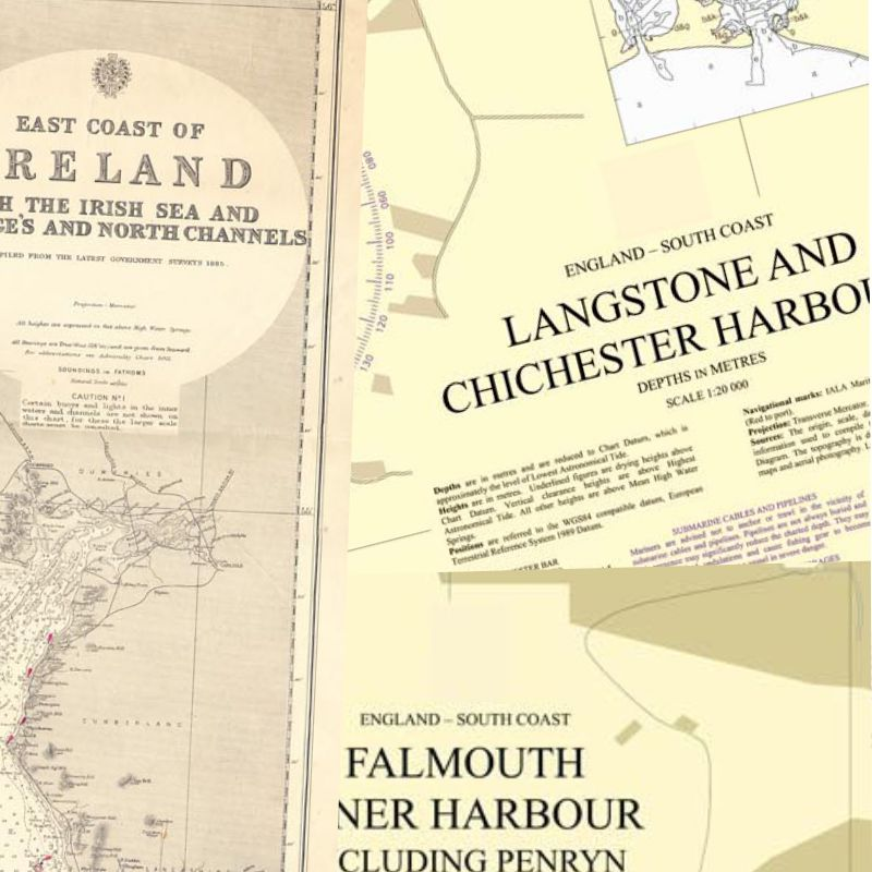 Nautical Chart Prints