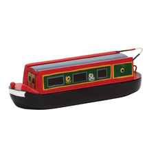 Narrowboat Pencil Case with Sliding Roof
