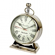 Chrome Franklin Pocket Watch Clock