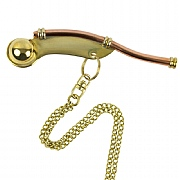 Brass & copper Bosun's Call (chain/boxed)