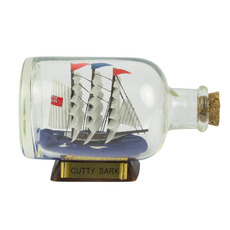 Cutty Sark 3.5in. Ship-in-Bottle