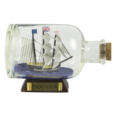 Endeavour 3.5in. Ship-in-Bottle