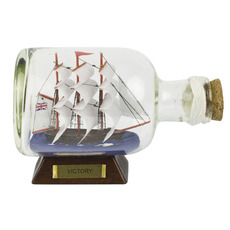 HMS Victory 5.5in. Ship-in-Bottle
