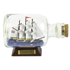 Endeavour 5.5in. Ship-in-Bottle