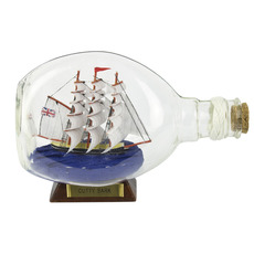 Cutty Sark 6.5in. Ship-in-Bottle
