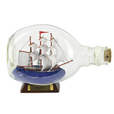 HMS Bounty 6.5in. Ship-in-Bottle