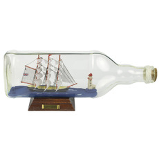 Cutty Sark 11in. Ship-in-Bottle