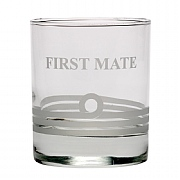 Royal Navy Glass 'First Mate'