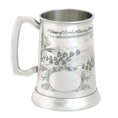 Trafalgar Tankard - with FREE ENGRAVING