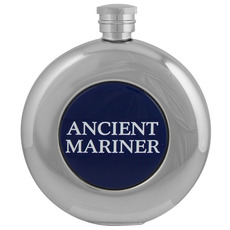 Round Hip Flask, Ancient Mariner