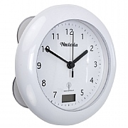 Self-adjusting Shower Clock