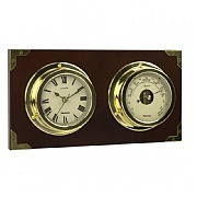 Captain Clock and Barometer Set