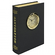 'Navigation' Clock Book with Storage