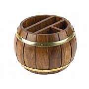 Naval-style Barrel Desk Tidy