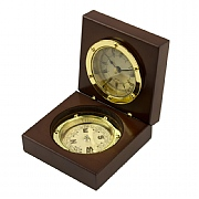 Admiral's Clock & Compass Set