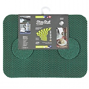Isagi Placemats/Coasters Set, Forest Green