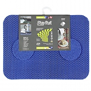 Isagi Placemats/Coasters Set, Electric Blue