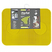 Set of 6 StayPut Tablemats and Coasters in Yellow