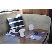 Placemats & Coasters Set, clear, (6 of each)
