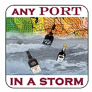 Nautical Coaster, Any Port in a Storm,