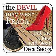 Nautical Coaster, The devil may wear Prada…