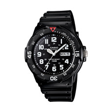 Casio Analogue MRW-200 Watch, black dial
