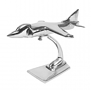 4in. Wingspan Aluminium Sea Harrier Sculpture