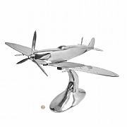 32in. Wingpsan Aluminium Spitfire Sculpture
