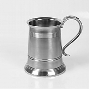Pewter-coated Tankard (straight)
