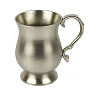 Pewter-coated Tankard (curved)