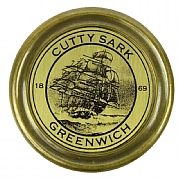 Brass Cutty Sark Tribute Compass