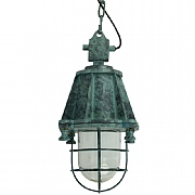 Dockyard Pendant Light with Cage