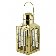 Brass 'Chief' Cargo Electric Lamp