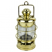 Brass 'Nelson' Electric Lamp