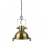 Antique Brass Dockyard Pendant with Chain