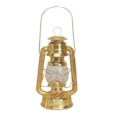 Corrosion-resistant Solid Brass Hurricane Oil Lamp