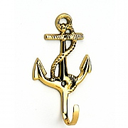 3.75in. Anchor-style Brass Hook