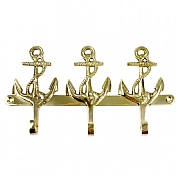 3-anchor Brass Hook