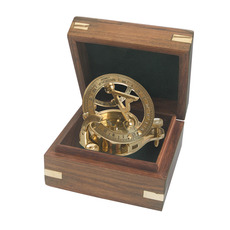 Quarter-size Dollond Portable Sundial