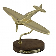 Solid Brass Spitfire - Never Was so Much Owed by So Many to So Few
