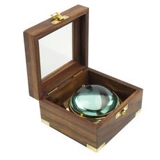 Domed Tripod Magnifier in Presentation Box