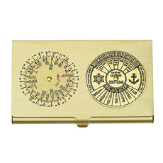 World Time/40yr Calendar Card case