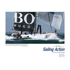 Beken of Cowes 2016 Sailing Action Calendar in Landscape Style