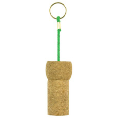 Hidden Safe Cork Keyring