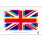 Britannia Waives Rules Tea Towel