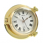 "Brass ""Bridge"" Clock"
