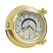 "Brass ""Bridge"" Tide Clock"